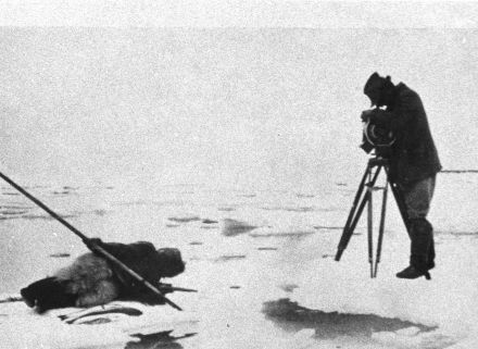 "Filmando ""Nanook of the north"""